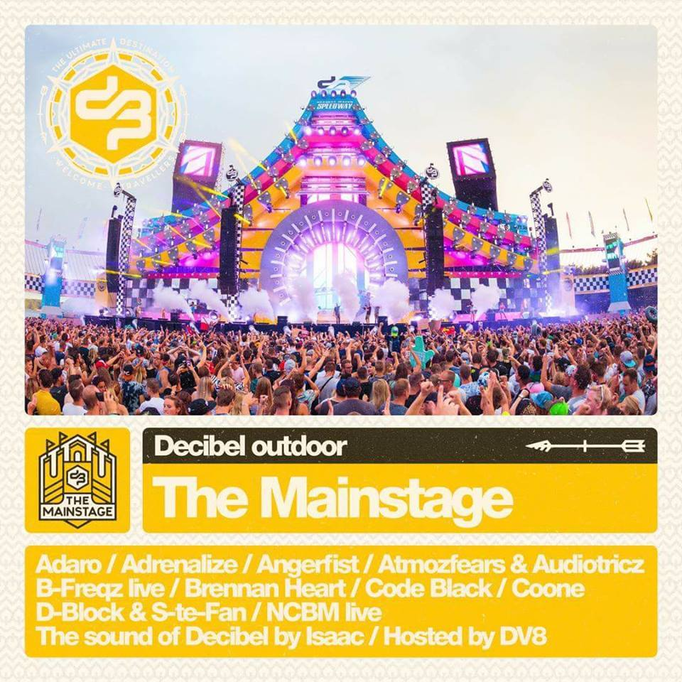Line up - decibel mainstage